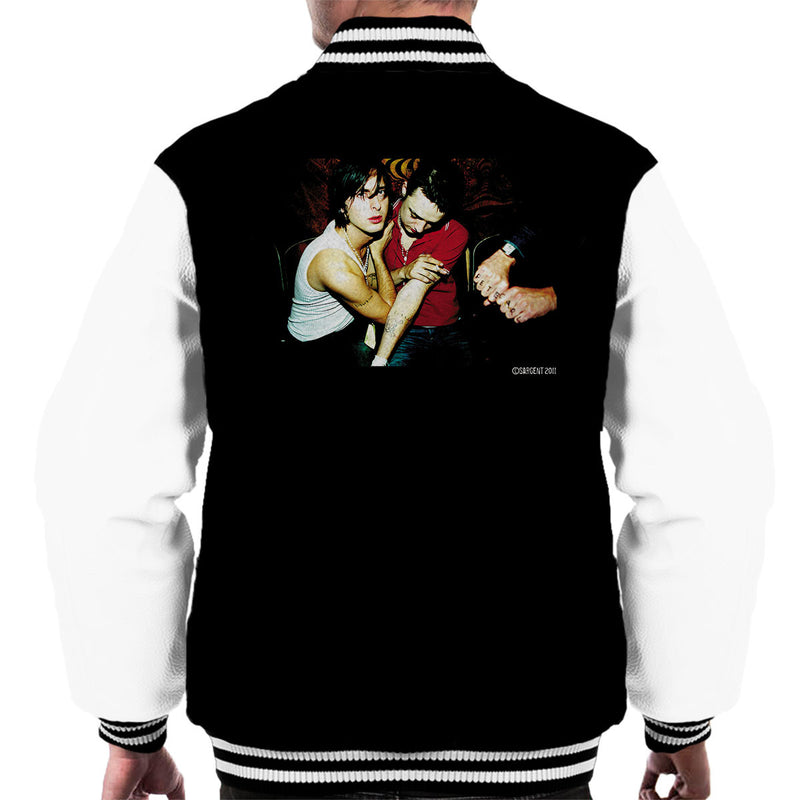 The Libertines Album Cover Men's Varsity Jacket - Don't Talk To Me About Heroes