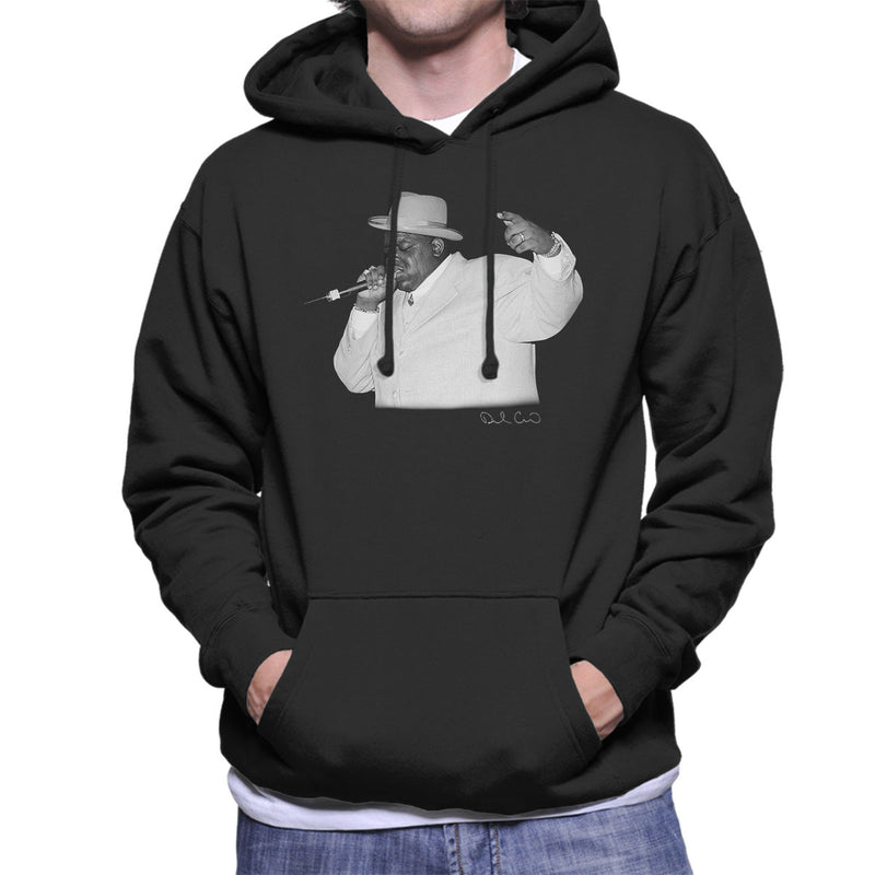 Notorious BIG Meadowlands 1995 Men's Hooded Sweatshirt