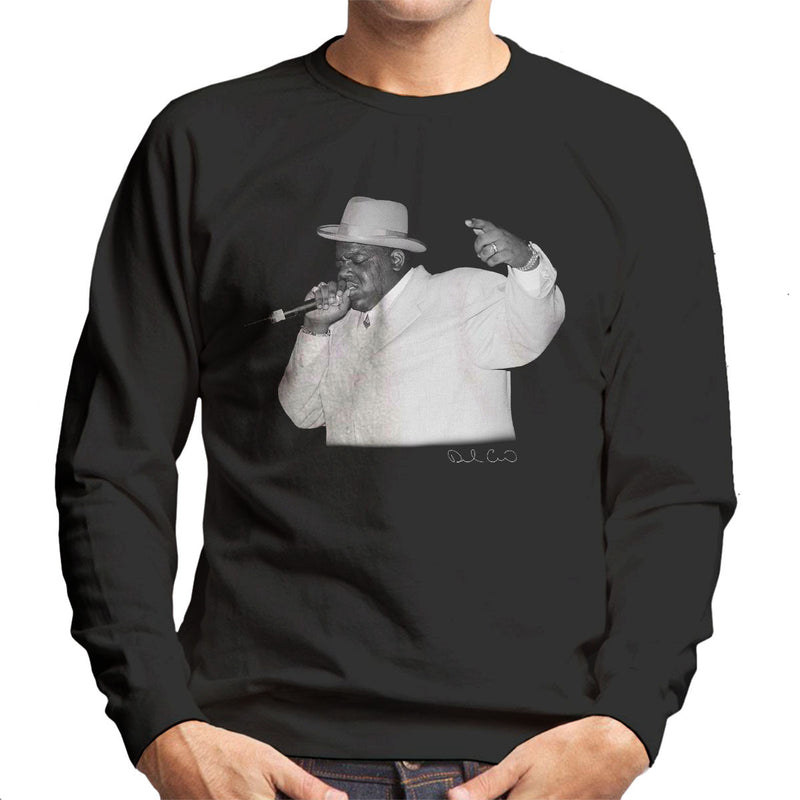 Notorious BIG Meadowlands 1995 Men's Sweatshirt