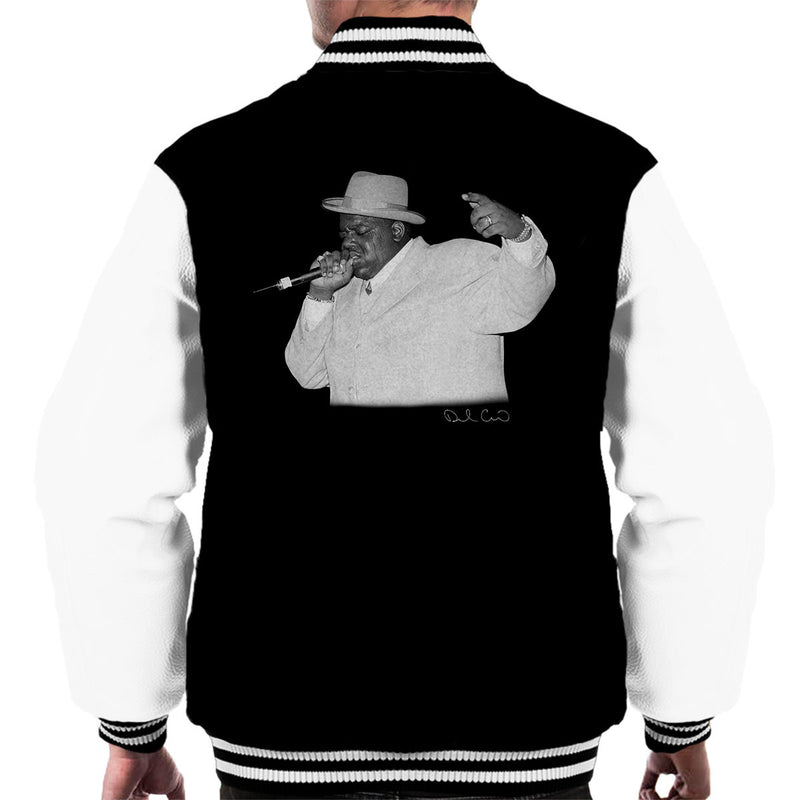 Notorious BIG Meadowlands 1995 Men's Varsity Jacket - Don't Talk To Me About Heroes