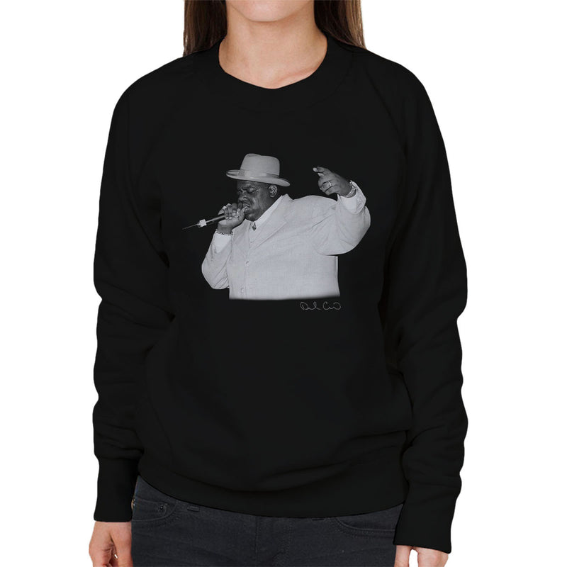 Notorious BIG Meadowlands 1995 Women's Sweatshirt