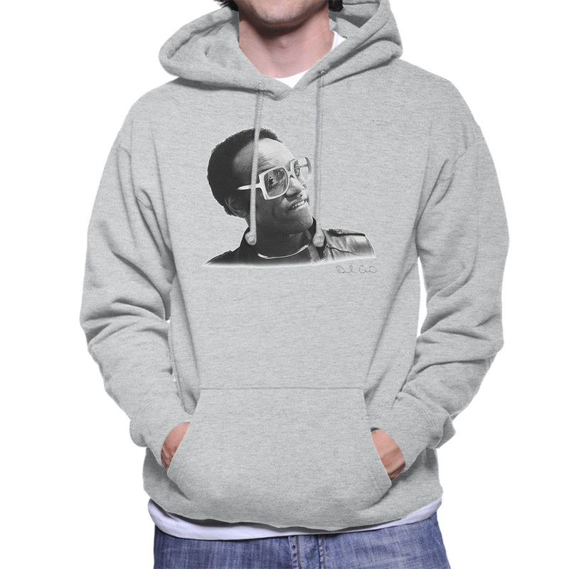 Bobby Womack London 1982 Men's Hooded Sweatshirt - Don't Talk To Me About Heroes