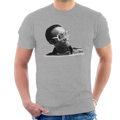 Bobby Womack London 1982 Men's T-Shirt - Don't Talk To Me About Heroes