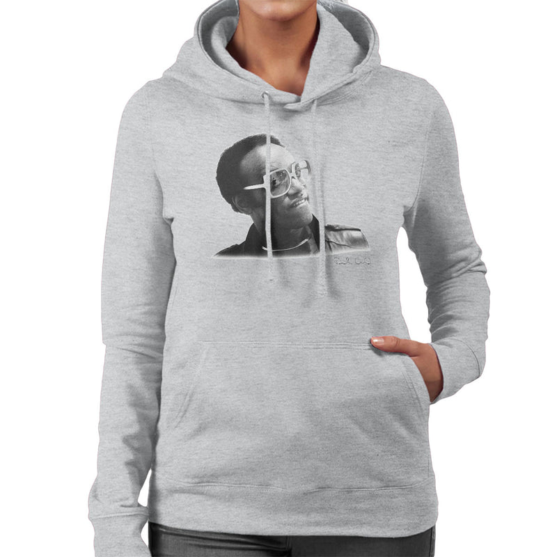 Bobby Womack London 1982 Women's Hooded Sweatshirt - Don't Talk To Me About Heroes
