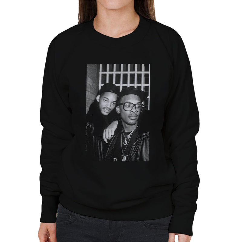 DJ Jazzy Jeff and The Fresh Prince London 1986 Women's Sweatshirt