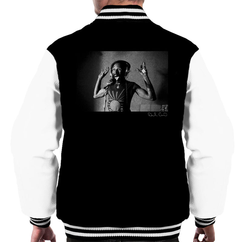 Lee Scratch Perry Jungle Lion Studio 1980 Men's Varsity Jacket - Don't Talk To Me About Heroes