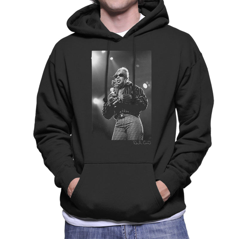 Mary J Blige Madison Square Garden 1995 Men's Hooded Sweatshirt - Don't Talk To Me About Heroes