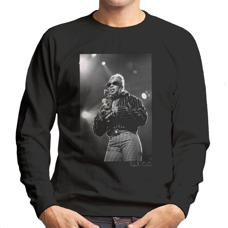 Mary J Blige Madison Square Garden 1995 Men's Sweatshirt - Don't Talk To Me About Heroes