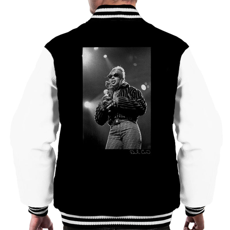 Mary J Blige Madison Square Garden 1995 Men's Varsity Jacket - Don't Talk To Me About Heroes