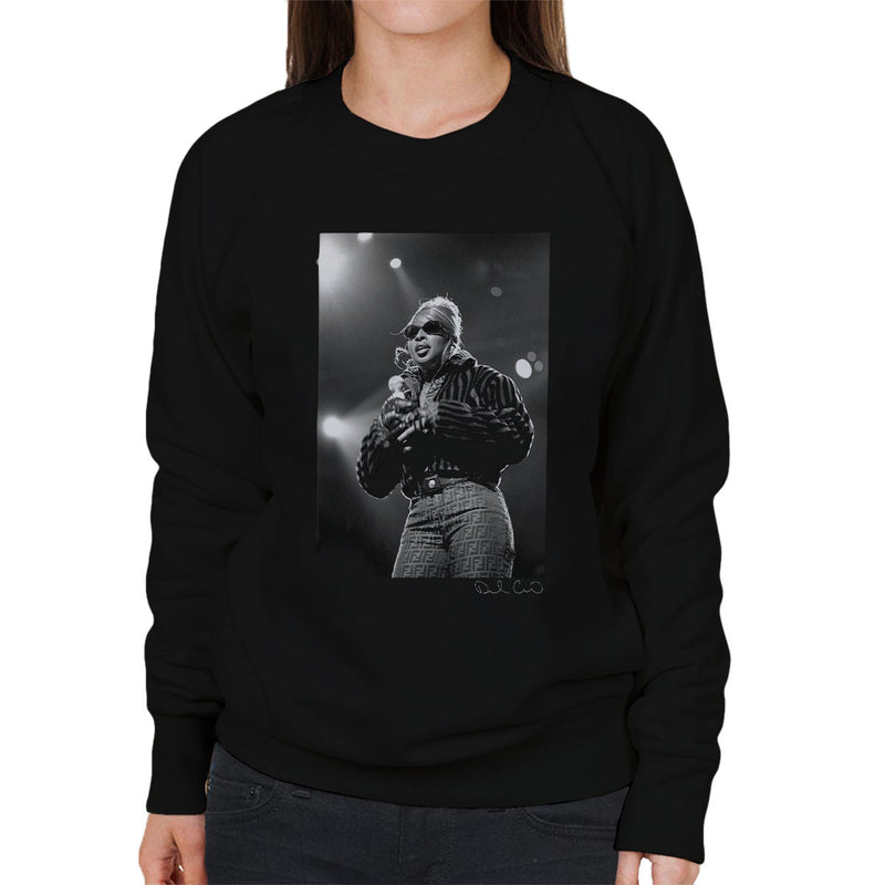 Mary J Blige Madison Square Garden 1995 Women's Sweatshirt - Don't Talk To Me About Heroes