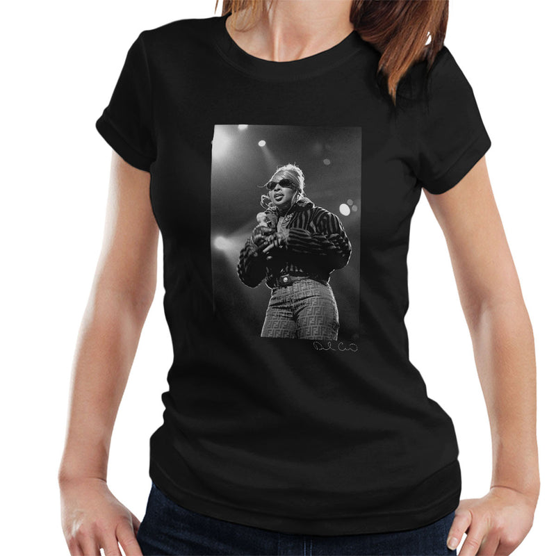 Mary J Blige Madison Square Garden 1995 Women's T-Shirt - Don't Talk To Me About Heroes