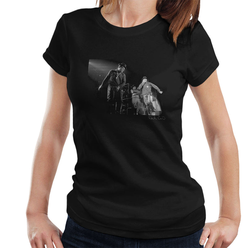 Run DMC Live Hammersmith Odeon 1986 Women's T-Shirt - Don't Talk To Me About Heroes