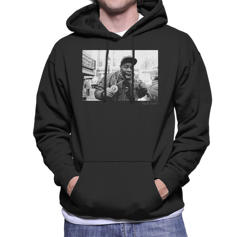 Biz Markie Just A Friend Men's Hooded Sweatshirt - Don't Talk To Me About Heroes