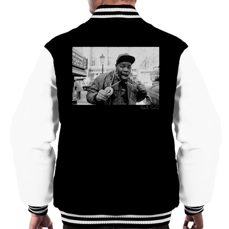 Biz Markie Just A Friend Men's Varsity Jacket - Don't Talk To Me About Heroes