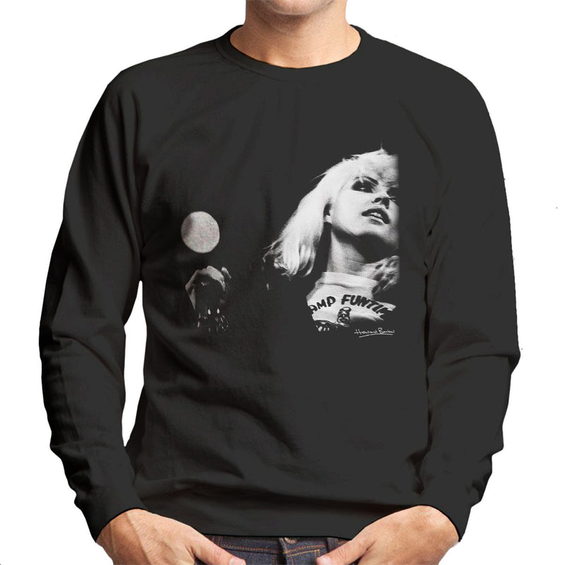 Blondie Debbie Harry Manchester Free Trade Hall 1977 Men's Sweatshirt