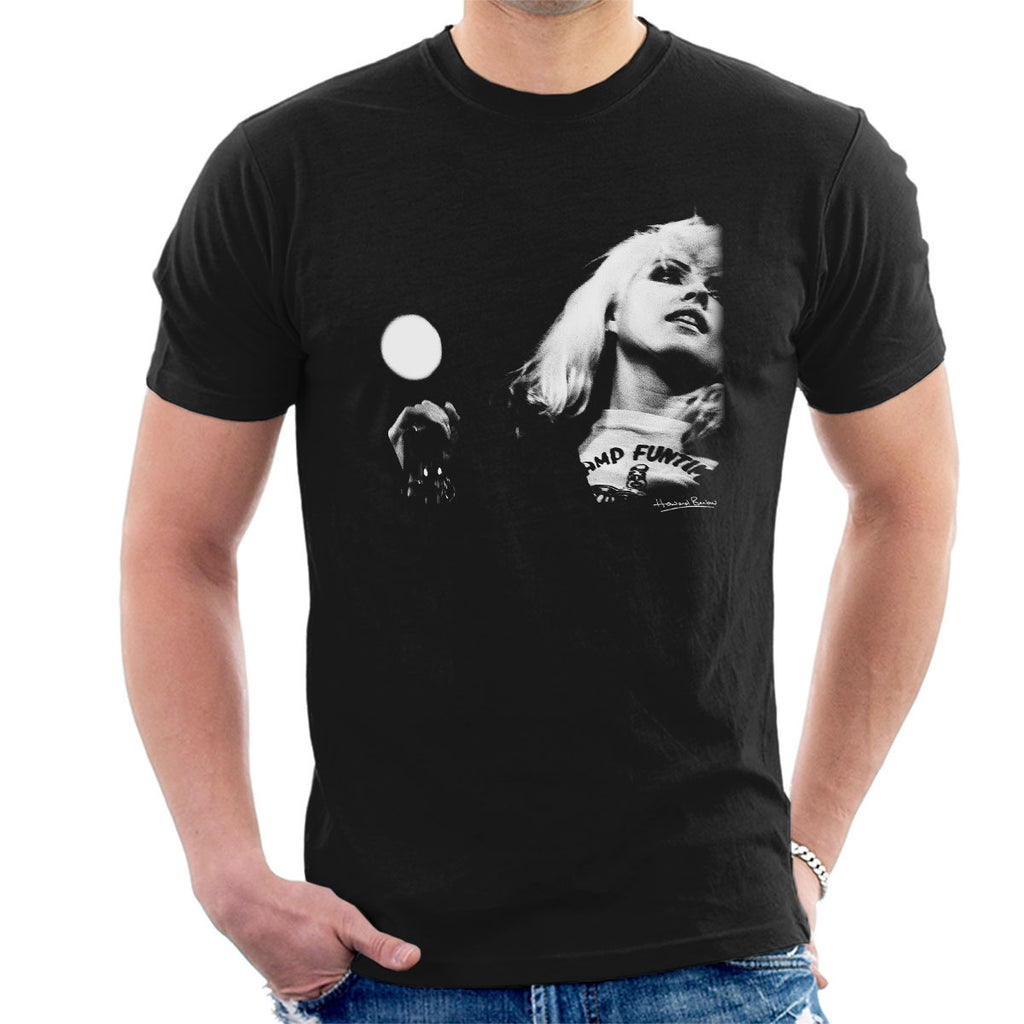 Blondie Debbie Harry Manchester Free Trade Hall 1977 Men's T-Shirt