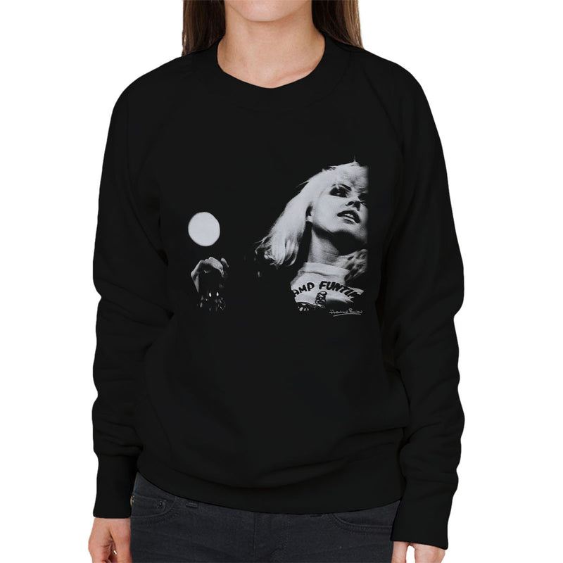 Blondie Debbie Harry Manchester Free Trade Hall 1977 Women's Sweatshirt - Don't Talk To Me About Heroes