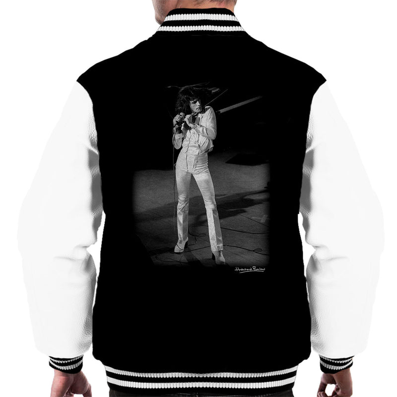 Freddie Mercury Queen Manchester Palace 1974 Men's Varsity Jacket - Don't Talk To Me About Heroes