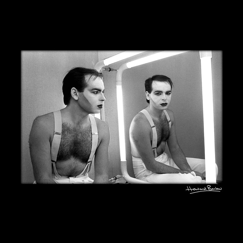 Gary Numan Backstage At The Tube 1984 Men's Varsity Jacket - Don't Talk To Me About Heroes