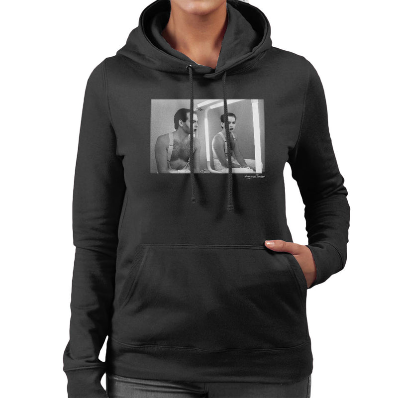 Gary Numan Backstage At The Tube 1984 Women's Hooded Sweatshirt