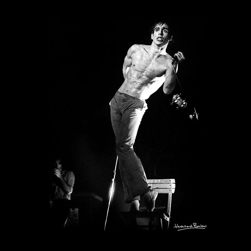 Iggy Pop Manchester Apollo 1977 Men's Vest - Don't Talk To Me About Heroes