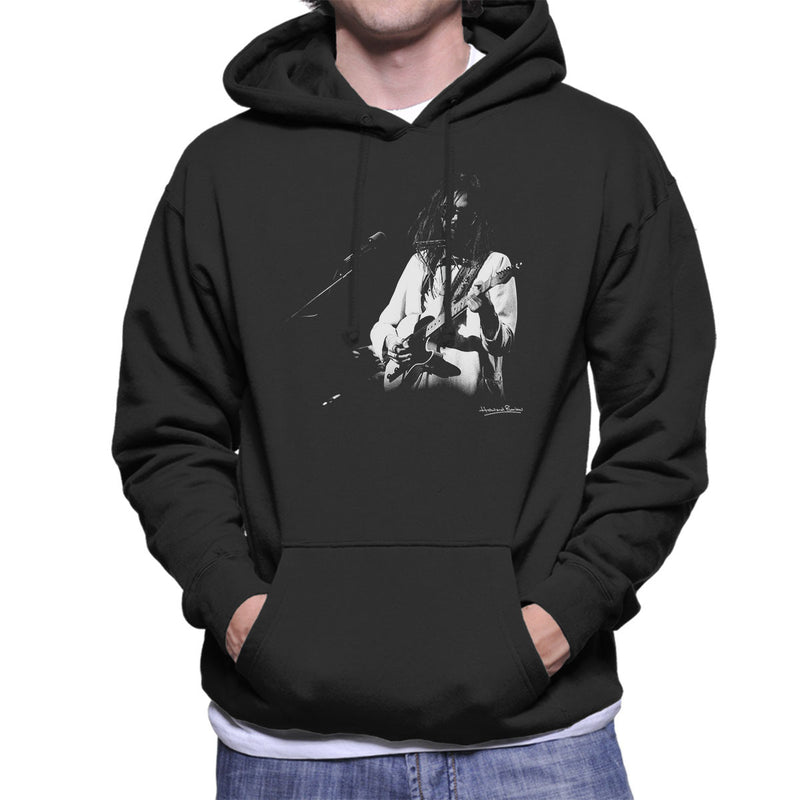 Neil Young Manchester Palace 1973 Men's Hooded Sweatshirt - Don't Talk To Me About Heroes