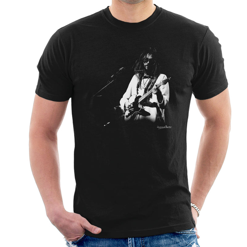 Neil Young Manchester Palace 1973 Men's T-Shirt