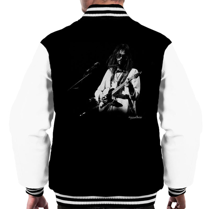 Neil Young Manchester Palace 1973 Men's Varsity Jacket