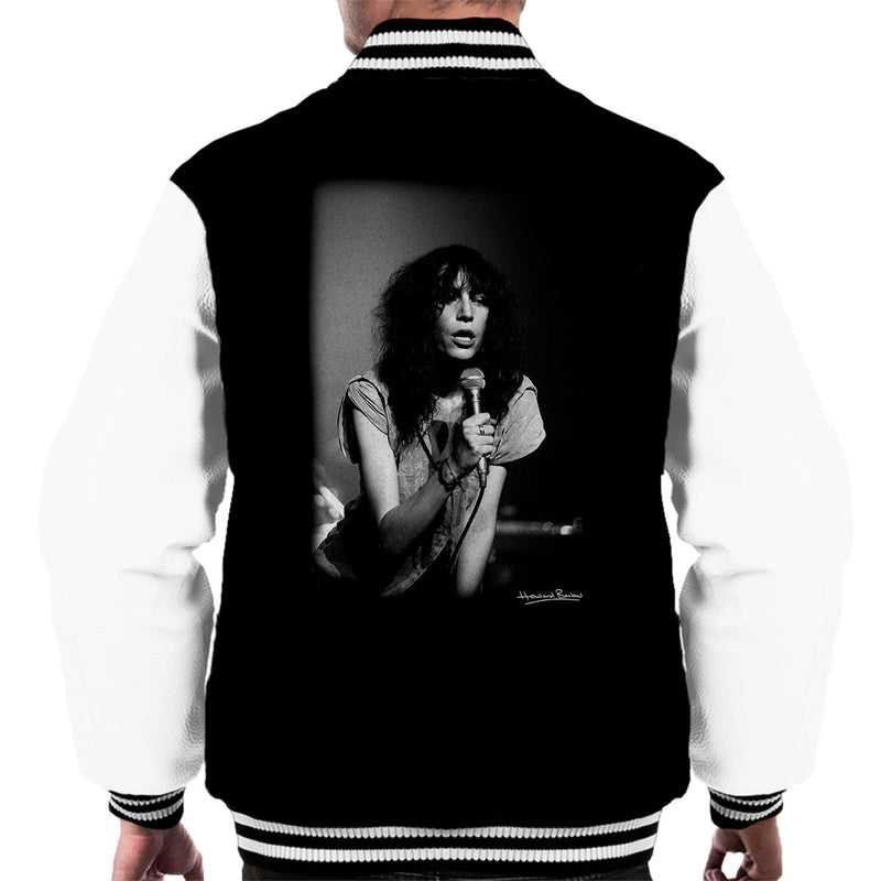 Patti Smith Manchester Apollo 1978 Men's Varsity Jacket - Don't Talk To Me About Heroes