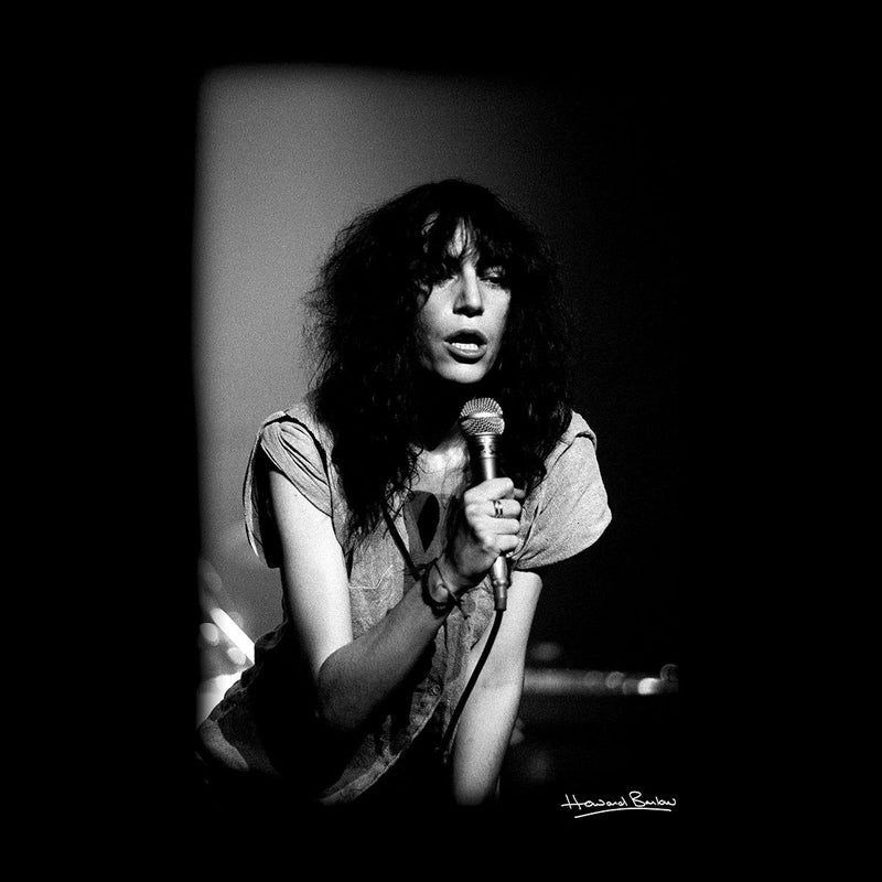 Patti Smith Manchester Apollo 1978 Men's Vest - Don't Talk To Me About Heroes