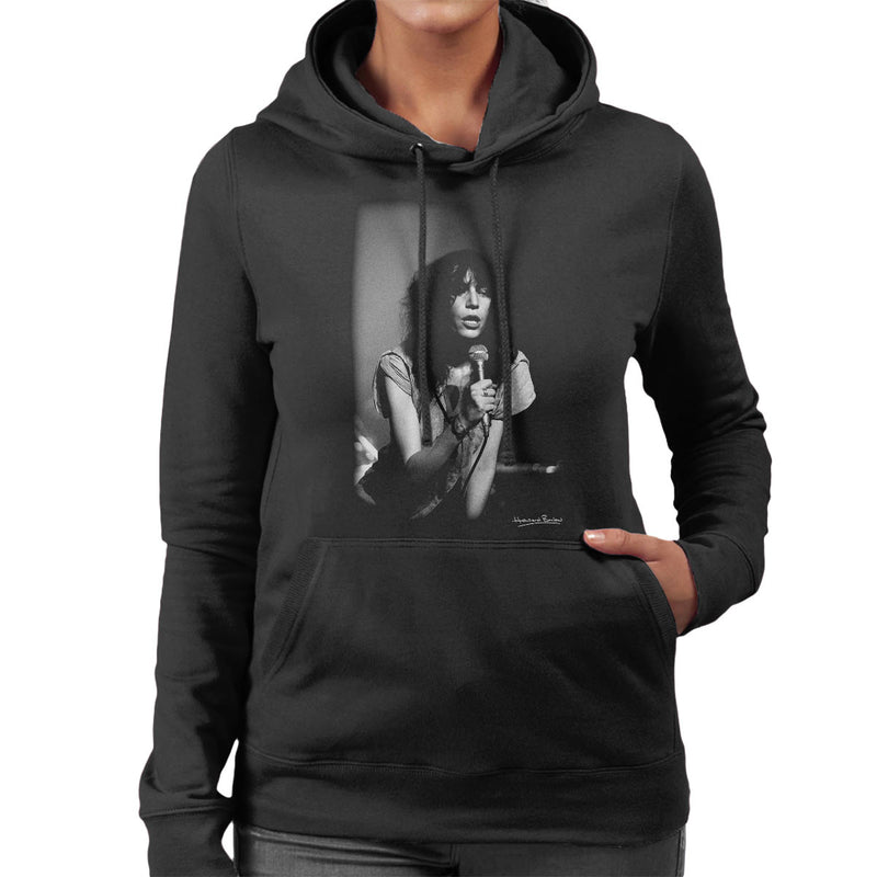 Patti Smith Manchester Apollo 1978 Women's Hooded Sweatshirt - Don't Talk To Me About Heroes