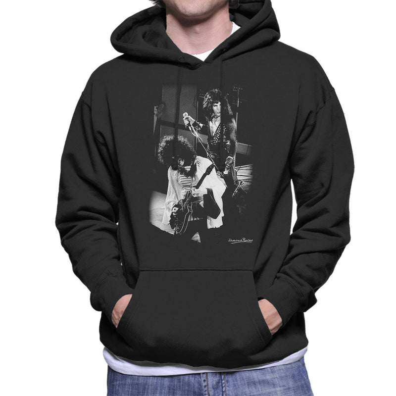 Queen Manchester Palace 1974 Men's Hooded Sweatshirt - Don't Talk To Me About Heroes