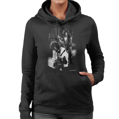 Queen Manchester Palace 1974 Women's Hooded Sweatshirt - Don't Talk To Me About Heroes