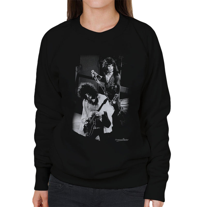 Queen Manchester Palace 1974 Women's Sweatshirt - Don't Talk To Me About Heroes