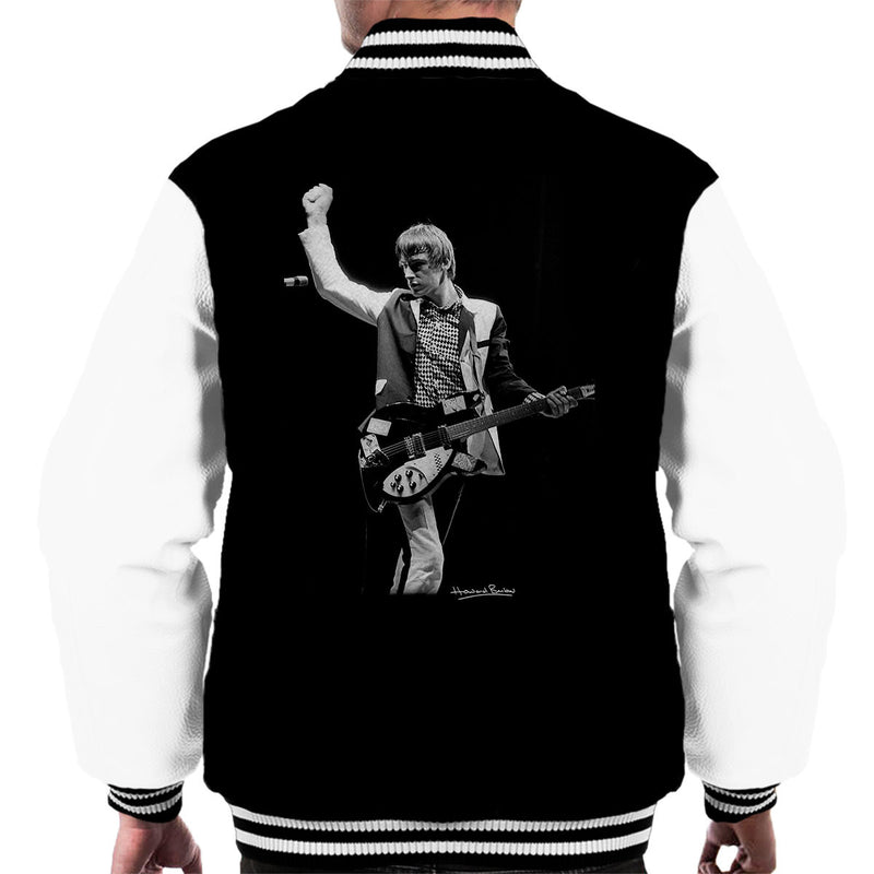 The Jam Paul Weller Manchester Apollo Men's Varsity Jacket - Don't Talk To Me About Heroes