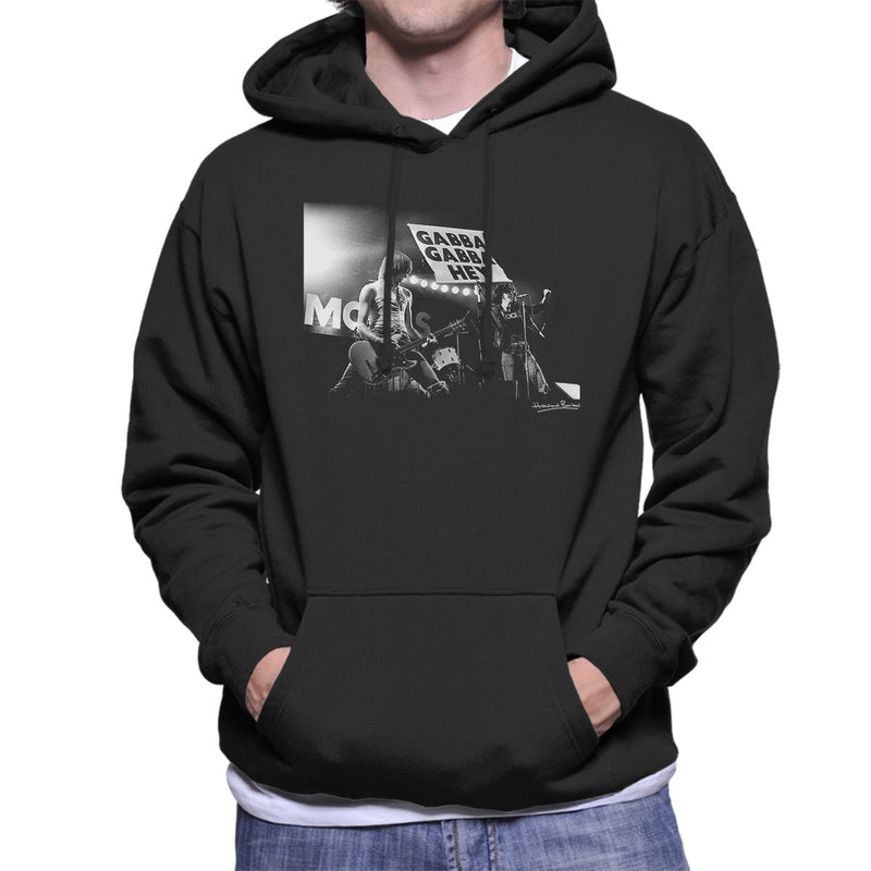 The Ramones Gabba Gabba Hey Manchester Apollo 1977 Men's Hooded Sweatshirt - Don't Talk To Me About Heroes