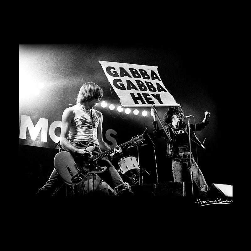 The Ramones Gabba Gabba Hey Manchester Apollo 1977 Men's Varsity Jacket - Don't Talk To Me About Heroes