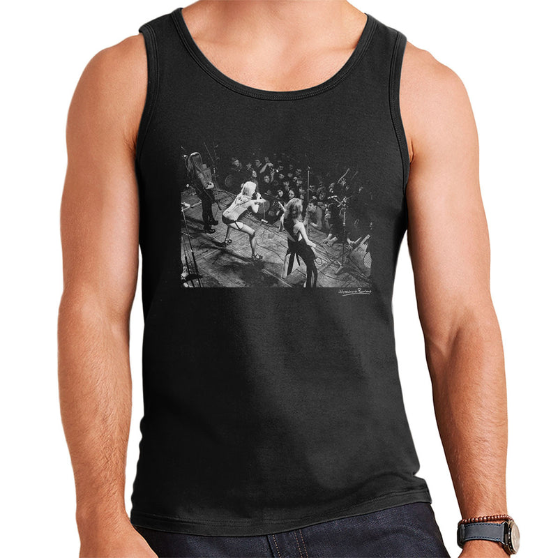 The Runaways Sheffield University 1976 Men's Vest - Don't Talk To Me About Heroes