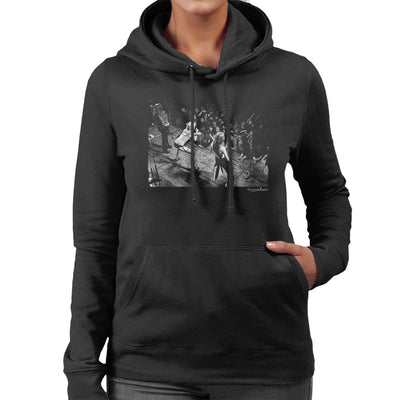The Runaways Sheffield University 1976 Women's Hooded Sweatshirt - Don't Talk To Me About Heroes