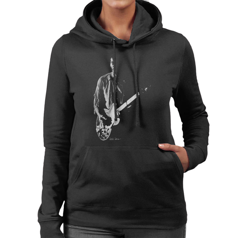Chuck Berry Imperial College London 1973 Women's Hooded Sweatshirt