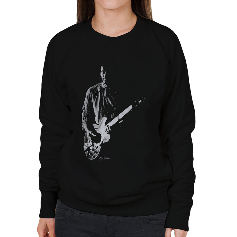 Chuck Berry Imperial College London 1973 Women's Sweatshirt