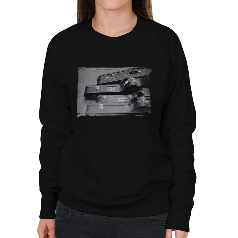 Crosby And Nash Guitars US Tour 1971 Women's Sweatshirt