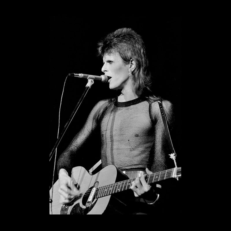 David Bowie Ziggy Stardust Guitar Hammersmith Odeon 1973 Women's T-Shirt