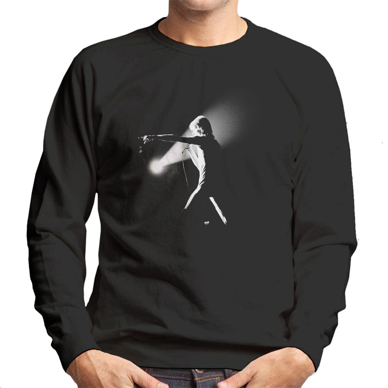 David Bowie Final Ziggy Stardust Hammersmith Odeon Black And White 1973 Men's Sweatshirt - Don't Talk To Me About Heroes