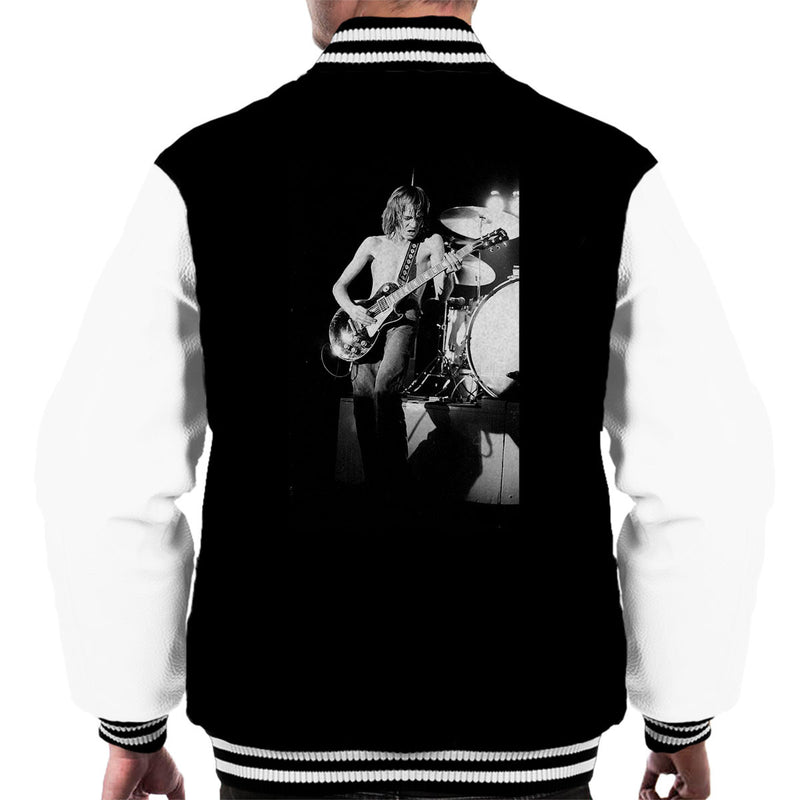 Steve Marriott Humble Pie Coliseum London 1972 Men's Varsity Jacket - Don't Talk To Me About Heroes