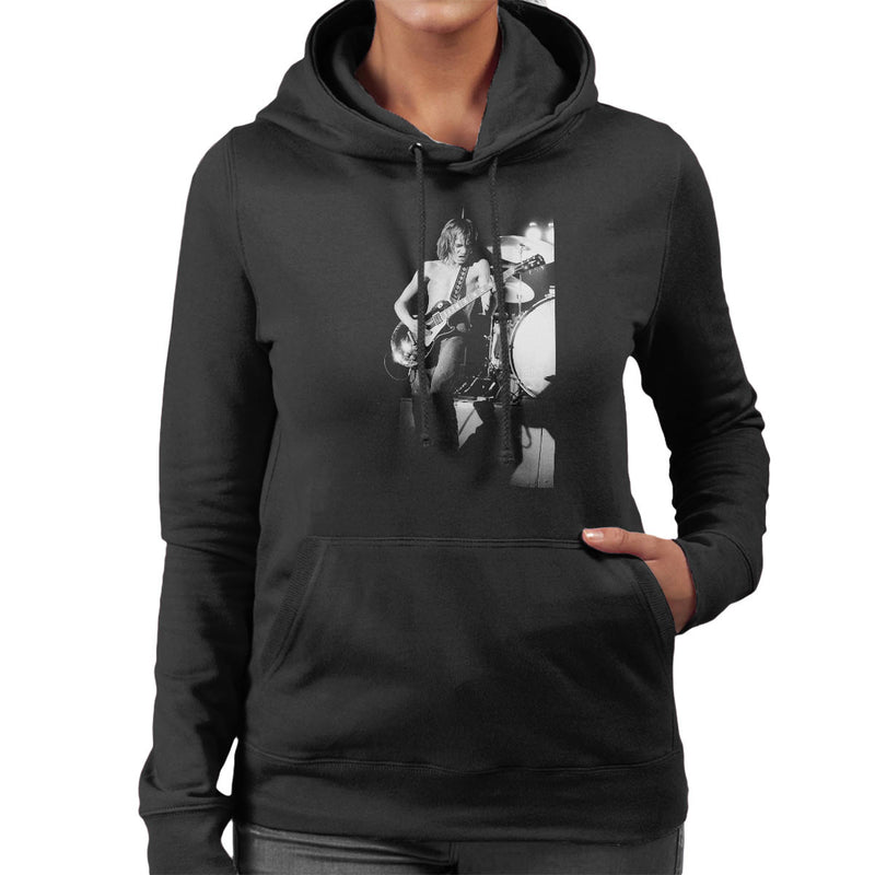 Steve Marriott Humble Pie Coliseum London 1972 Women's Hooded Sweatshirt - Don't Talk To Me About Heroes