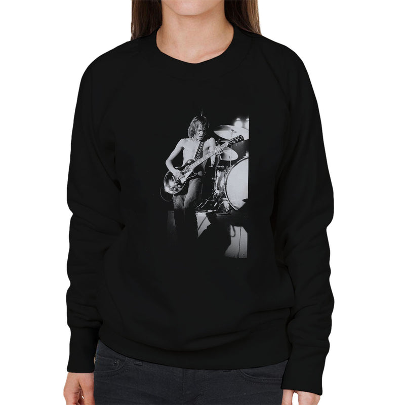 Steve Marriott Humble Pie Coliseum London 1972 Women's Sweatshirt - Don't Talk To Me About Heroes