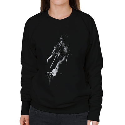 Led Zeppelin Robert Plant Cardiff Capitol Theatre 1972 Women's Sweatshirt - Don't Talk To Me About Heroes