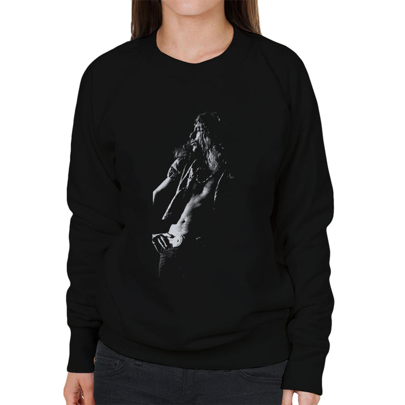 Led Zeppelin Robert Plant Cardiff Capitol Theatre 1972 Women's Sweatshirt