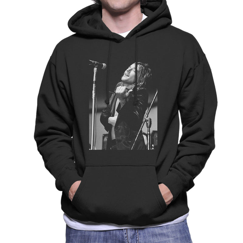 Faces Rod Stewart Southern Illinois University 1971 Men's Hooded Sweatshirt - Don't Talk To Me About Heroes